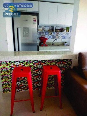 Apartamento Com 2 Dormitórios À Venda, 60 M² Por R$ 350.000 - Vila Valparaíso - Santo André/sp - Ap9597