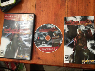 Devil May Cry 3 Dantes Awakening Special Edition Ps2