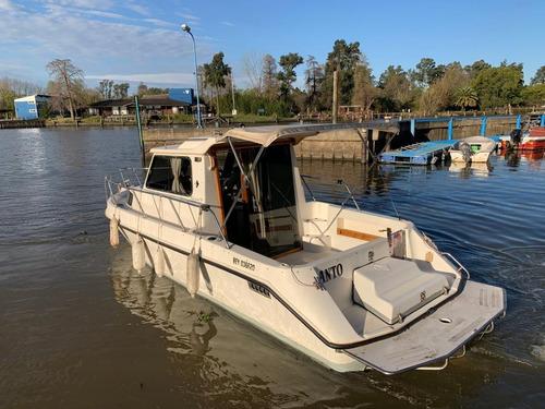 Imagen 1 de 13 de Crucero Fisher Cabin 710 Motor Volvo Penta Tdiesel Patavolvo