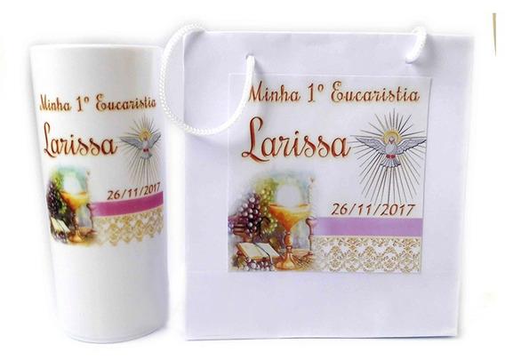 70 Kits Lembrancinha Batizado, Crisma, Comunhão, Eucaristia
