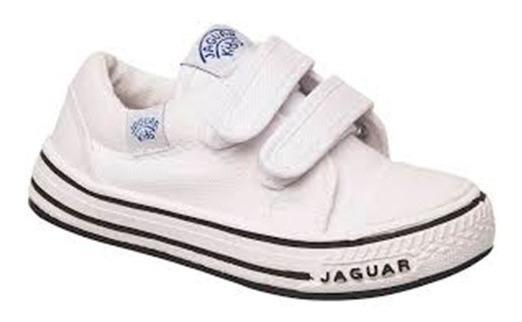 Zapatilla Jaguar Kids 129 Blanco T 19 20 21 22 23 24 25 26