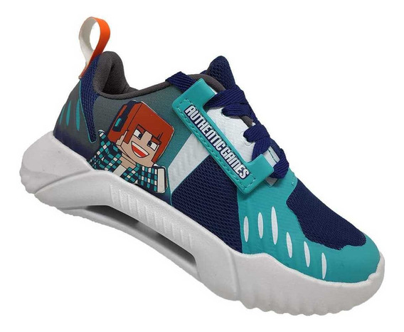 Tenis Infantil Authentic Games Mania Grendene 22237