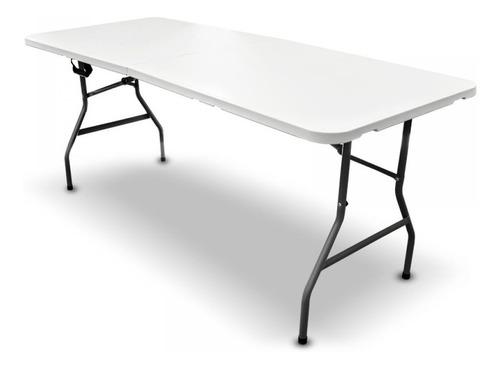 Mesa Plegable Portafolio Plastico 1.80m Resistente Garantia
