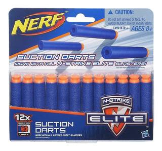 Dardos Nerf X 12 Unidades A5334 Hasbro Nstrike Elite Edu