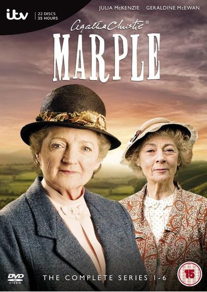 Agatha Christie Miss Marple C/ Geraldine E Julia 23 Filmes