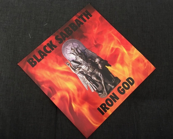 Black Sabbath - Iron God Lp