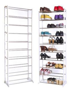 Zapatera De 10 Niveles Rack De Zapatos Organizador Calidad ®