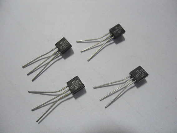 Transistor / Bc558 - 4 Unidades