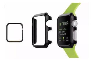 Capa Capinha Case Bumper Aluminio Apple Watch Preto 38mm