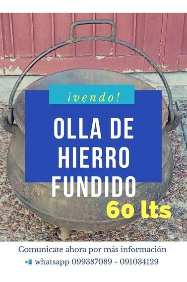 Olla De Hierro 60,lt