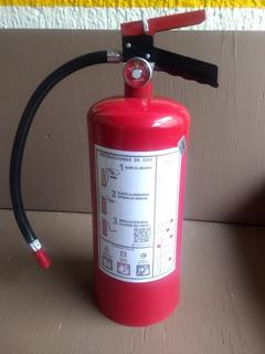 Extintor 4.5 Kg Pqs Nuevo Incluye Soporte Y Factura