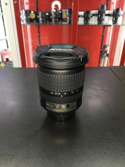Ente Nikon 10-24mm F/3.5-4.5g Af-s Dx 12x Sem Juros