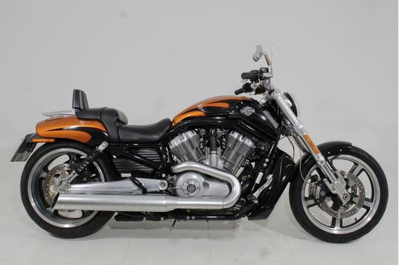 Harley Davidson V Rod Muscle 2014 Laranja