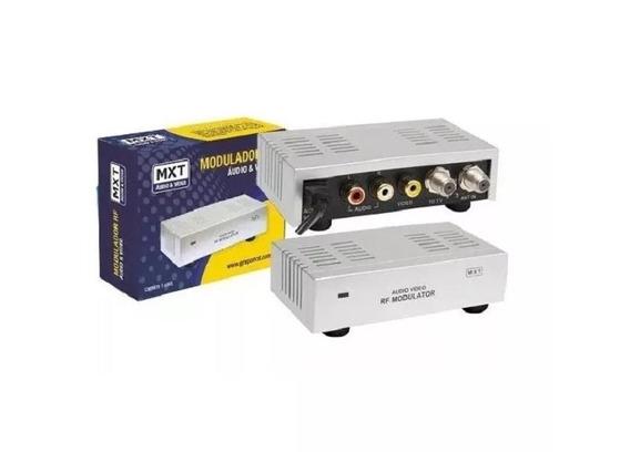 Modulador Rca Audio Video Para Rf Coaxial Original Mxt