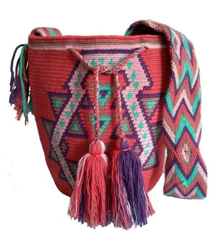 Mochilas Wayuu Originales Grandes Hechas A Mano