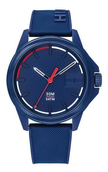 Reloj Tommy Hilfiger Caballero Color Azul 1791625 - S007