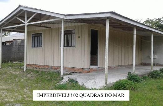 Venda Casa De Madeira Pontal Do Paraná Brasil - 2056r