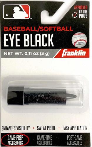 Protector Solar Ojos Béisbol Sóftbol Negro Frankling Kt12