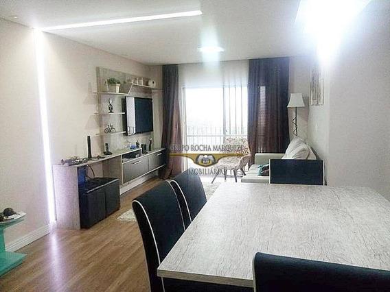 Apartamento Com 3 Dormitórios À Venda, 96 M² Por R$ 650.000 - Belém - São Paulo/sp - Ap0721