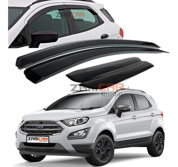 Calha Chuva Defletor Ford New Ecosport 4p 2019 A 2020