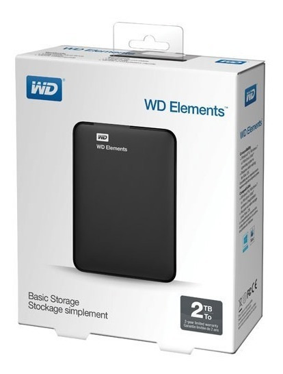Disco Rígido Externo Western Digital 2tb Usb 3.0