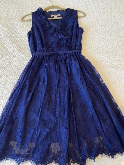 Vestido Azul Forever Xxi Azul