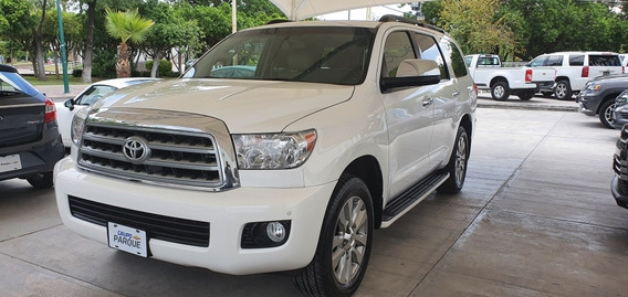Toyota Sequoia 2012 Limited Aa R-20 Piel Qc Dvd At
