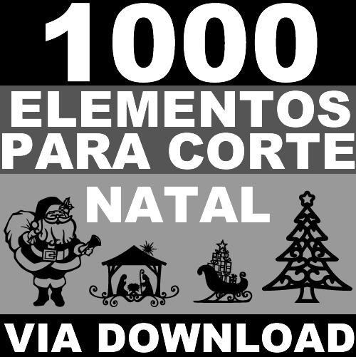 1000 Elementos Basicos Para Corte Silhouette Svg Dxf Vetor 4