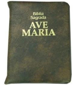Bíblia Sagrada Com Zíper - Média