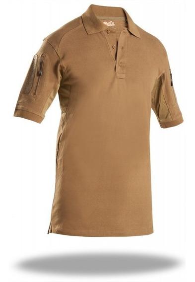 Playera Polo Tactica Comfortac Shirt Original Sixka 707