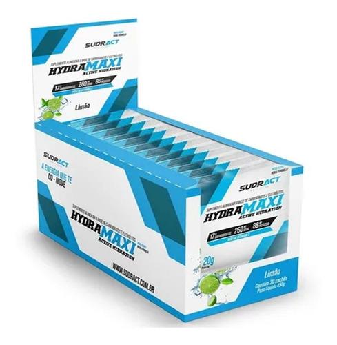 Isotônico Hydramaxi Sudract Caixa Com 25 Sachês 20g Limão