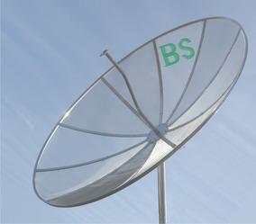 Antena Parabolica Brasilsat 1,70 Metros De Tela