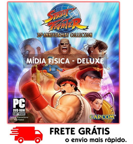Street Fighter Pc : 30th Anniversary Collection Mídia Física