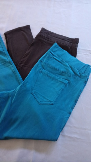 Pack De 2 Calzas Mujer Importadas Talle Xxl