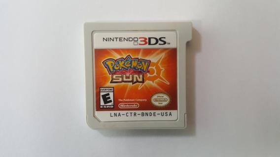 Jogo Pokémon Sun - Nintendo 3ds - Original - Sem Capa