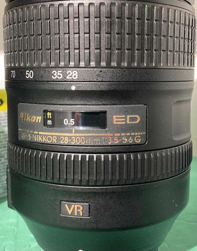 Lente Nikon 28-300 Ed Nikkor Zoom