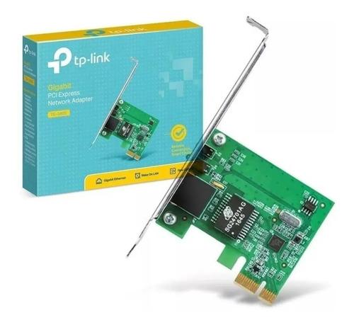 Imagem 1 de 6 de Placa De Rede Mini Pci-e Gigabit 10/100/1000 Tp Link Tg-3468