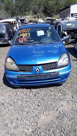 Sucata Renault Clio 1.0 16v Gasolina 2004 Rs Caí Peças