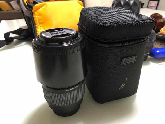 Lente Sigma Apo De 70-300mm Acompanha Case