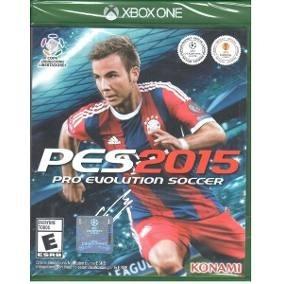 Pes 2015 / 15 - Xbox One - Midia Fisica Original E Lacrado
