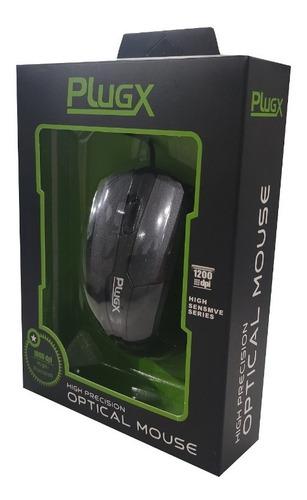 Imagem 1 de 5 de Mouse Plugx 1000 Dpi High-precision