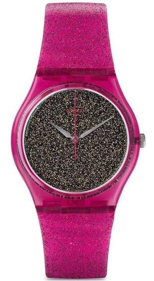 Reloj Swatch Gp149 Nuit Rose