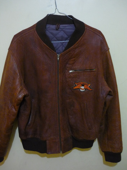 Chaqueta De Cuero, Harley Davidson Original