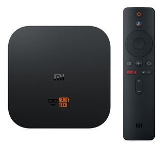 Xiaomi Mi Box S - Android Tv Box Youtube Netflix Chromecast