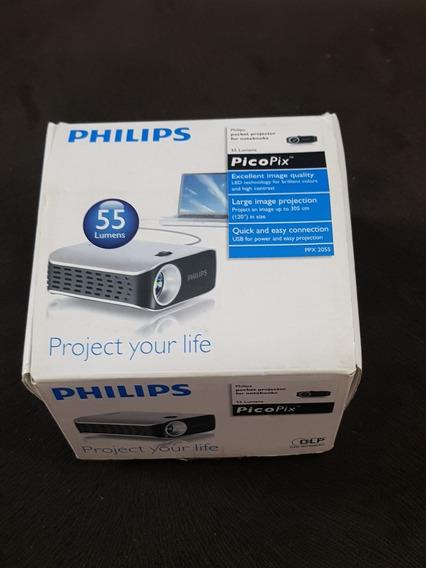 Microprojetor Picopix Philips Ppx2055 / Hdmi / Mini Usb / 55