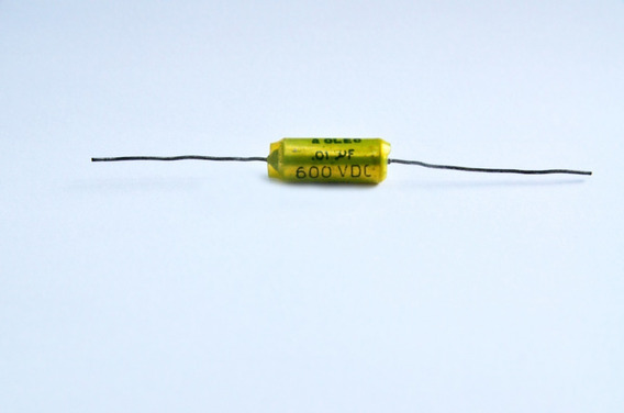 Capacitor Oleo 1uf 600vdc Axial