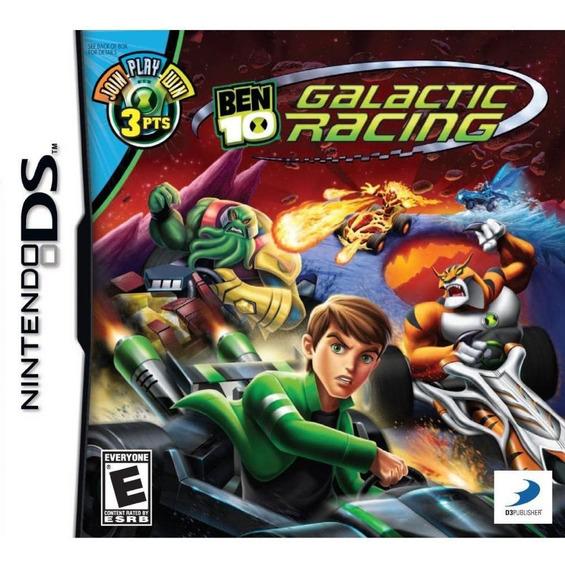 Ben 10 Galactic Racing Nds Mídia Física Novo Original