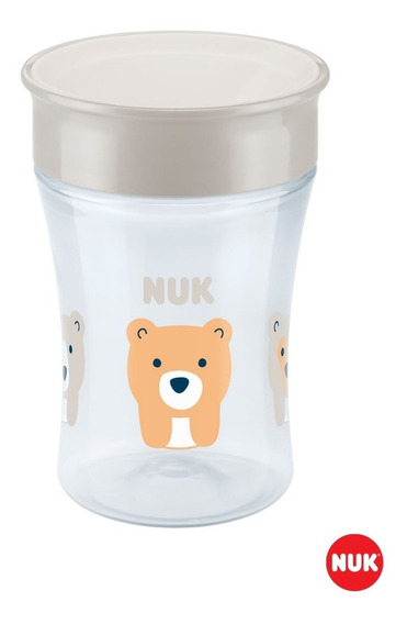 Magic Cup Vaso Evolution Nuk 230 Ml +8 Meses 360 Antigoteo
