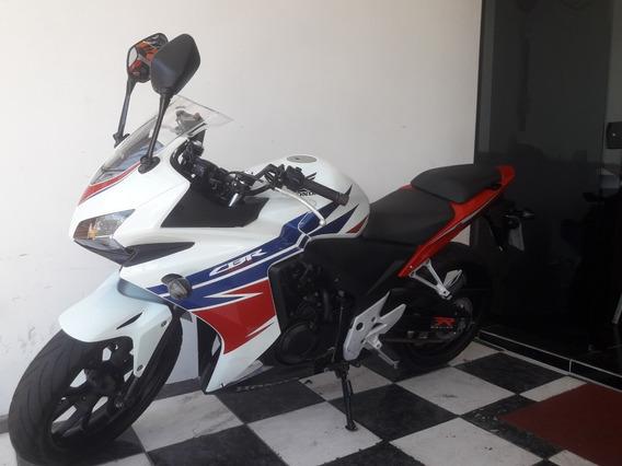 Honda Cbr 500r 2014 Abs Branca
