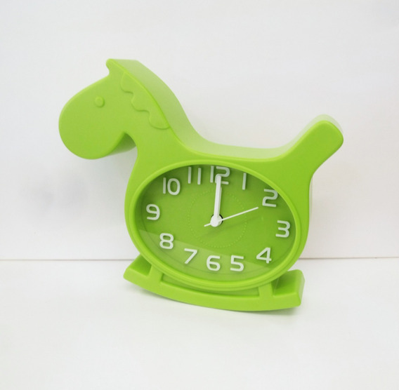 Reloj Despertador Infantil En Forma De Caballito